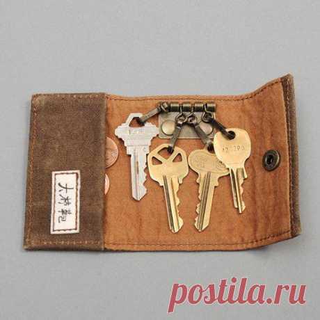 """""""кошелёк"""" для ключей - карманы останутся целы"""
