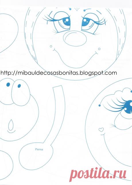Mi baúl de cosas bonitas: Como hacer expresiones alegres a las manualidades