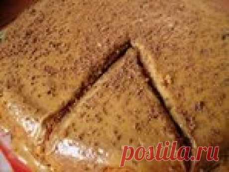 Кофейный пирог - эконом-рецепт из того, что есть в холодильнике
