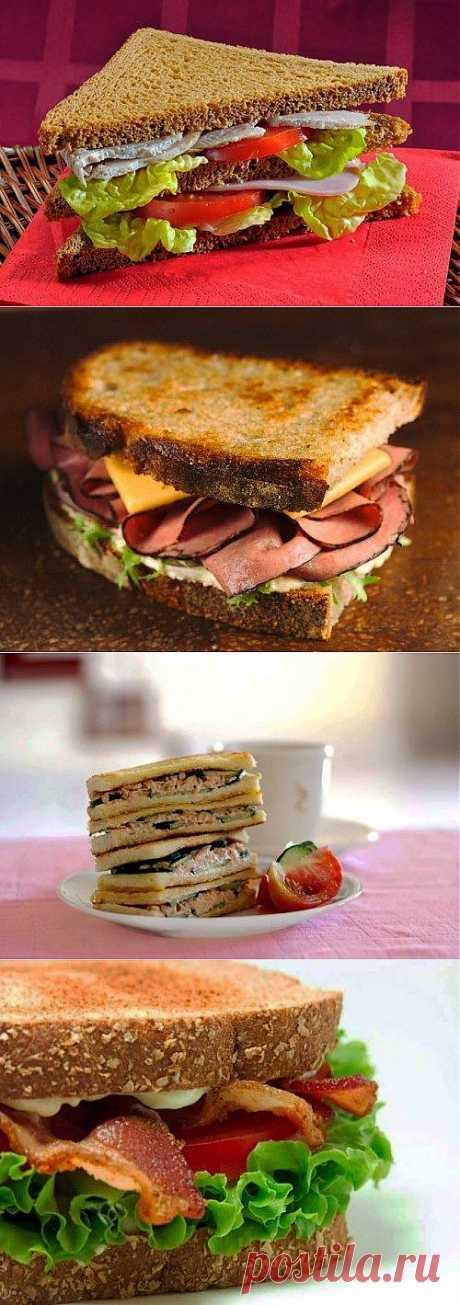 Рецепты сэндвичей: сытный перекус для энергичного дня!