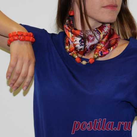 20+ элегантных образов с шарфами и бижутерией – В Курсе Жизни
