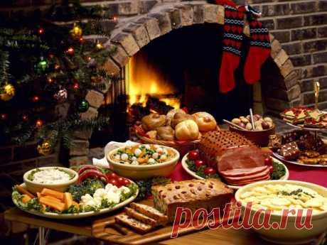 Идеальное меню для самого лучшего Рождества