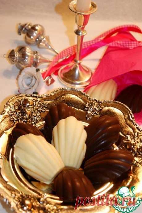 """Шоколадные конфеты """"Мадлен"""" - кулинарный рецепт"""