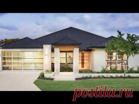 Одноэтажный дом планировка обзор 3D
