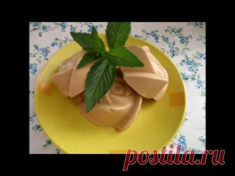 Мороженое крем-брюле в домашних условиях - YouTube