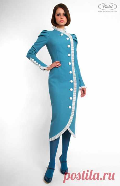 Купить Приталенное платье из натуральной шерсти Lambersona Pintel™ в Минске – цены продавцов