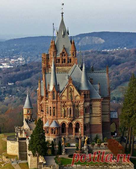 life by the drop — bonitavista: Drachenburg Castle, Germany photo...