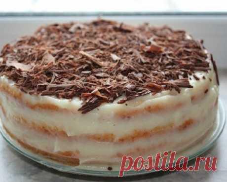 Потрясающий творожный торт на сковороде!