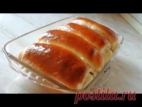 Шикарное тесто без яиц и молока с постной смазкой.  Постное меню