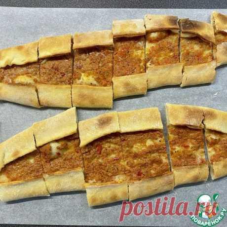 Пиде, как в Турции Кулинарный рецепт