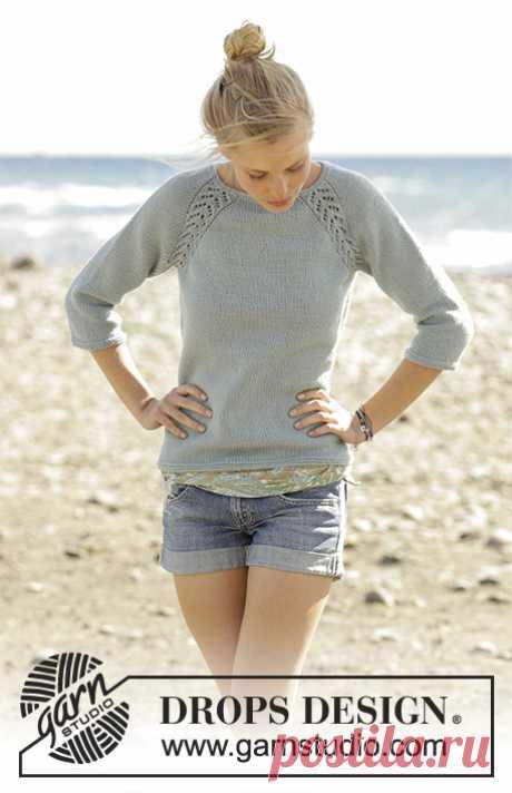 Wind Down jumper - the blog of experts of online store of a yarn 5motkov.ru