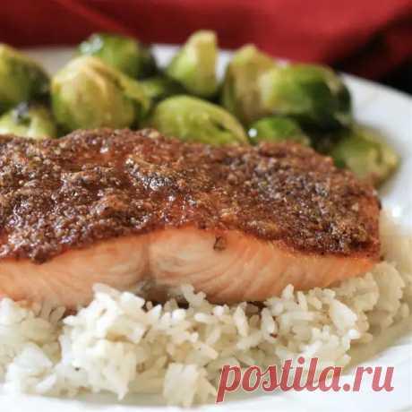 Запеченная рыба в ореховом соусе - этот рецепт не только легкий, но и полезный и вкусный! - ФотоРецепт - медиаплатформа МирТесен