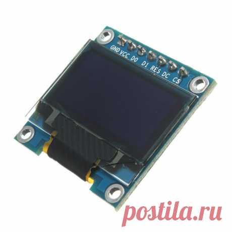 OLED 128x64px SPI – схема подключения к Arduino - блог