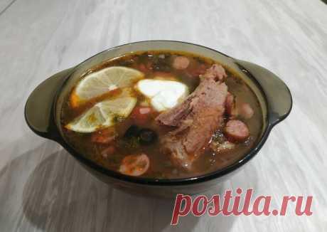 Солянка мясная по-домашнему Автор рецепта MegaUgi - Cookpad
