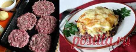 Коронное блюдо моей семьи — сочные стожки из мясного фарша   Очень сочные!      Ингредиенты: фарш — 0,5 кг;яйца — 3 штуки;лук — 2 головки;картофель — 2 штуки;сыр — 100 г;молотый перец по вкусу,домашний майонез или подобный ему соус. для соуса:желток яйца — …