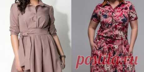 Советы по выбору платьев для пышных женщин. В этой статье вы найдёте информацию о платьях для полных дам, которые будут в моде в 2017 году.