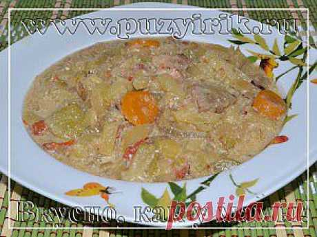 Овощное рагу с мясом в мультиварке | Вкусно, как у мамы!овощное рагу с мясом в мультиварке, блюдо готовится очень просто, получается ароматным и вкусным.