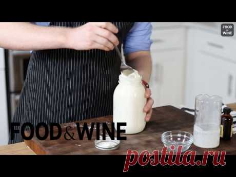 How to make Whipped Cream in a Jar | Mad Genius Tips | Food & Wine - YouTube