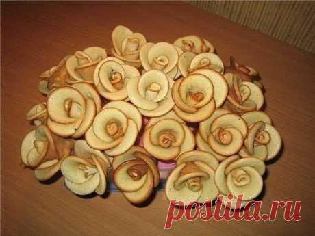 Печенье Розы.