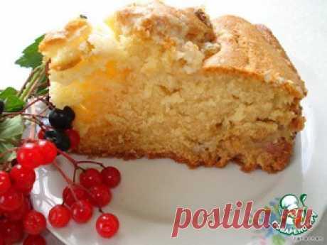 Американский сметанный пирог к кофе - кулинарный рецепт