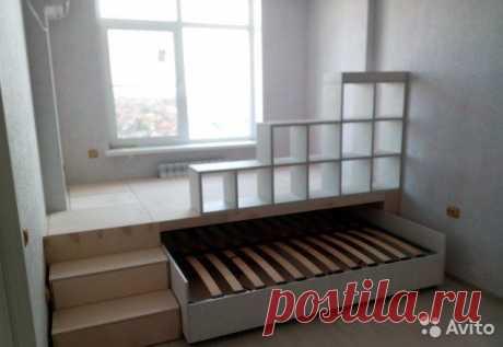 Кровать - подиум купить в Волгоградской области на Avito — Объявления на сайте Авито