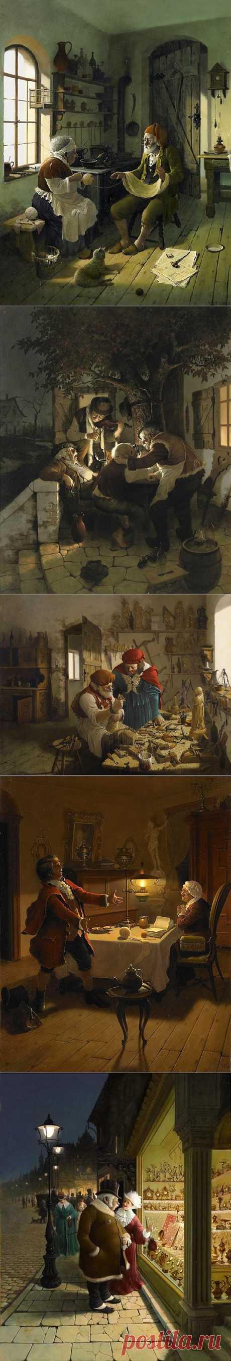VIDA GABOR венгерский живописец..