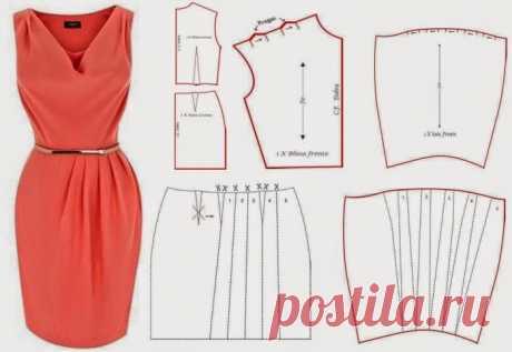 Моделируем платья Красивые, женственные. элегантные - отличные платья в подборке выкроек