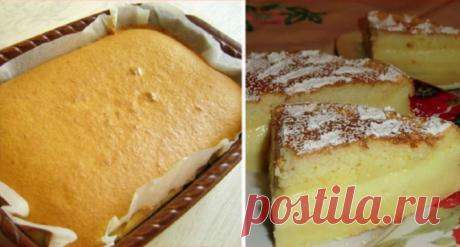 Самое вкусное пирожное! Его еще называют «Умное» | NashaKuhnia.Ru