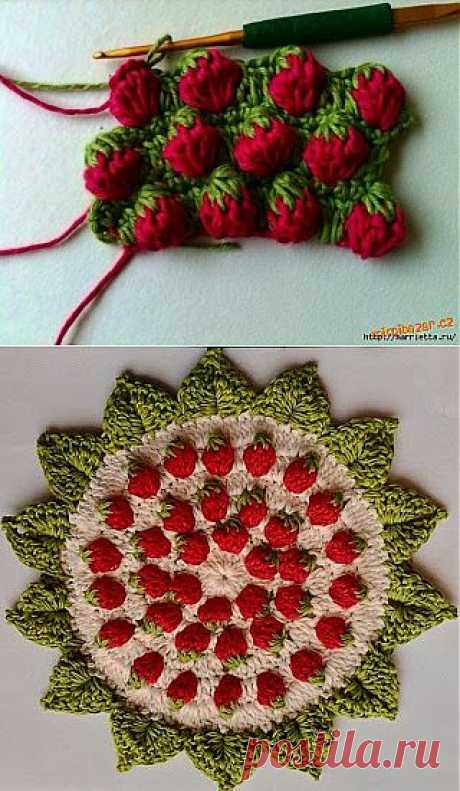 Pattern CHEESECAKE hook. Scheme and video lesson.