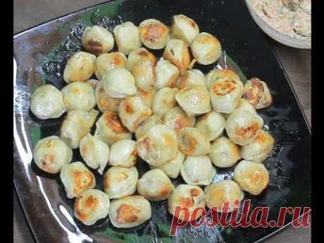 Жареные пельмени видео рецепт вкусного обеда