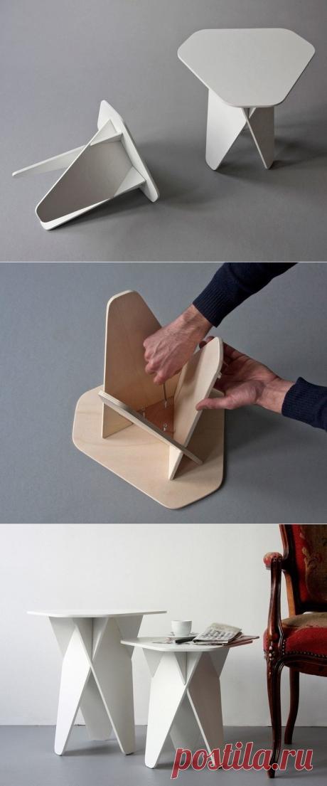 Оригинальная табуретка своими руками — Сделай сам, идеи для творчества - DIY Ideas