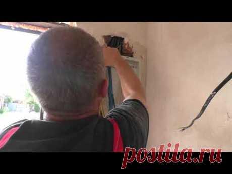 Переделка электро. щита дома после жёсткой халтуры