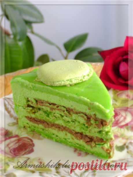 Фисташковый торт - Macaron - ВКУСНО С АРМУШИК