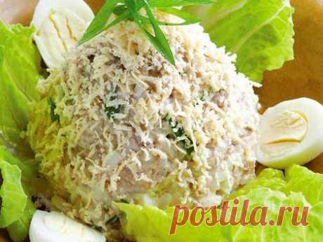 Салат из печени трески с лимонной заправкой • Сияние Жизни