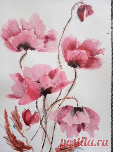 Акварель- Watercolor | Facebook