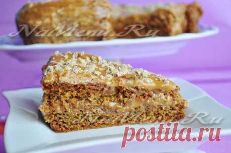 La torta con el turrón: la receta de la foto