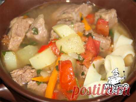 Lamian in the crock-pot - Simple recipes
