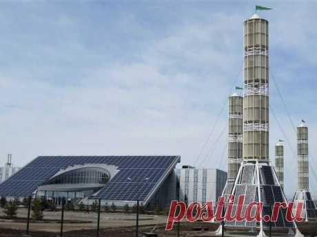 Уникальный виндротор Болотова превращает в энергию ветер любой силы, интенсивности и направления