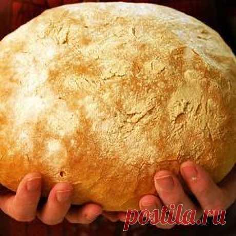 Хлеб на закваске без дрожжей