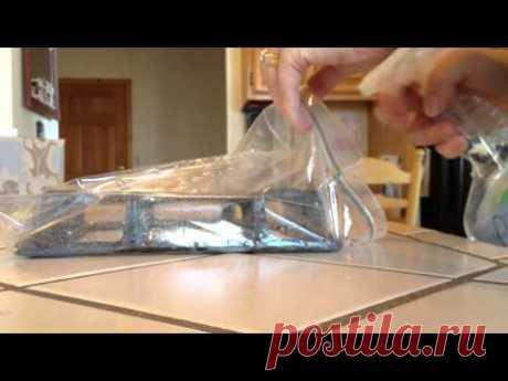 Простой способ почистить решетки кухонной плиты — Делимся советами