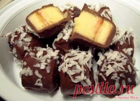 """Tasty dessert """"Бананы in шоколаде"""" - Recipes for very busy mother - the Country of Mothers"""