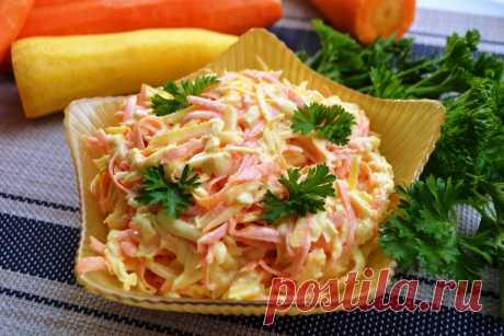 Салат, который раньше готовили даже на праздничный стол, а сейчас почему-то про него забыли Очень вкусный и витаминный салат из сырой моркови, копченого сыра и чеснока. Он прекрасно сочетается с самыми разными блюдам, особенно мясными. Для приготовления вам потребуются такие ингредиенты: морковь свежая, 400 г; сыр колбасный копченый, 250 г; чеснок, 3 зубчика; кипяток, 20 мл; майонез, 4 ст.л. Процесс приготовления Морковь трем на крупной терке. Сыр также натираем […]