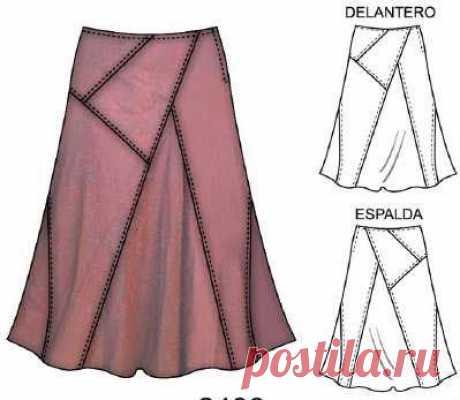 Для тех, кто умеет и любит шить: Моделирование модных юбок