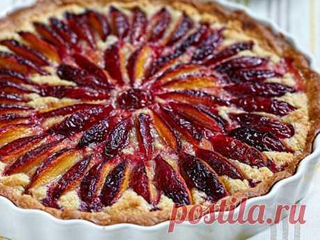 El pastel con las ciruelas nyu york tayms la receta de la foto - las Recetas - la Cocción - Smak.ua