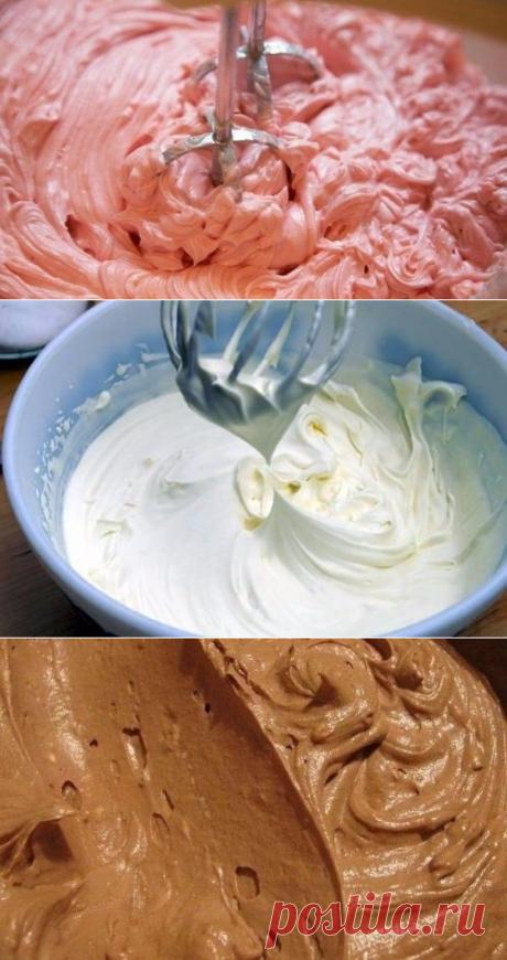 Топ 8 самых простых кремов для торта   Четыре вкуса