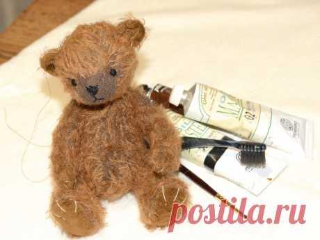 Как сшить мишку Тедди, выкройка, пошаговое руководство с фото