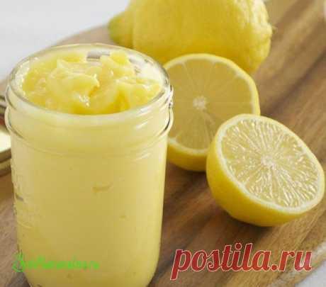 La crema cocida de limón - más interesante en los blogs