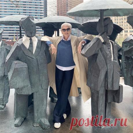 Икона стиля: образы от 71-летней Мэй Маск, которые стоит взять на заметку пожилым женщинам | Офигенная