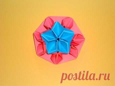 Оригами Цветы Из Бумаги. Детский подарок на 8 марта
