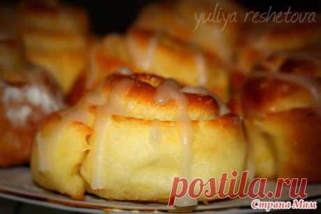 Карамельные булочки с глазурью - Рецепты для очень занятой мамы - Страна Мам
